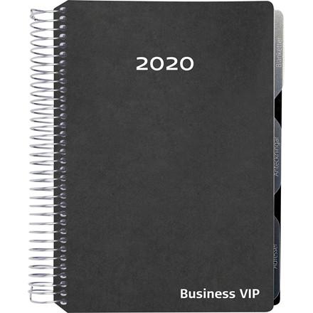 Ugekalender A5 business sort 15x21cm højformat 20 2001 30