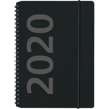 Ugekalender A5 fiberpap årstal 15x21cm højformat 20 2005 00