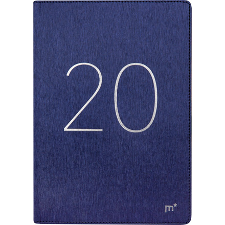 Ugekalender City Diplomat 17x24,5cm blå Trend 20 1940 20