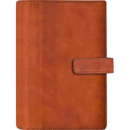 Ugekalender System PP skind brun 9,5x17cm højformat 20 2713 00