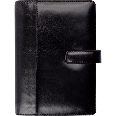 Ugekalender System PP skind sort 9,5x17cm højformat 20 2711 00