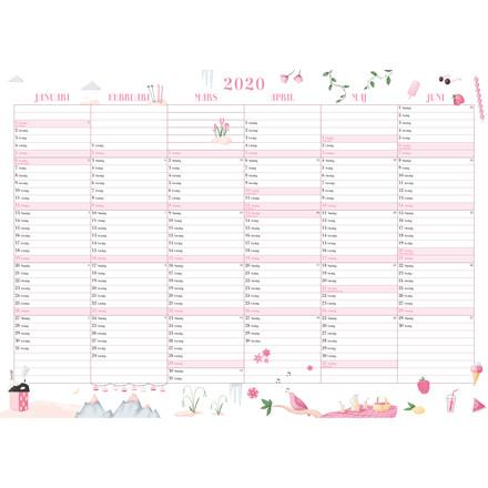 Vægkalender Annies 70x50cm 20 0635 00