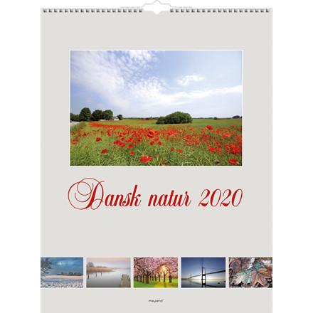 Vægkalender 2020 Dansk natur 29,5x39cm 20 0666 50