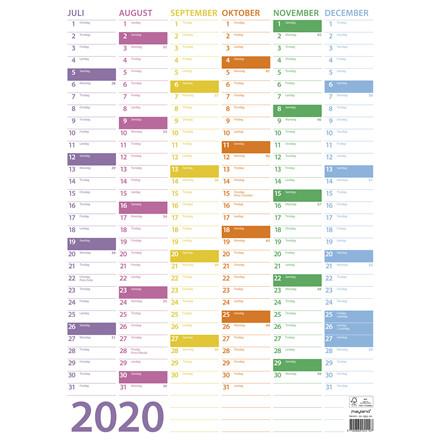 Vægkalender Trend 36x49cm 20 0551 00