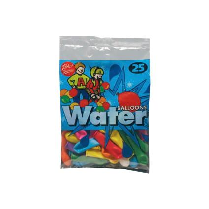 Vandballoner - Assorteret - Pose med 25 stk