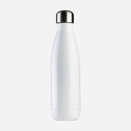 Vandflaske Jobout aqua Ø7x25,5cm 500ml white