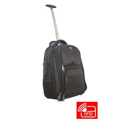 Verbatim 17'' Notebook Backpack Roller Paris w/RFID Secure