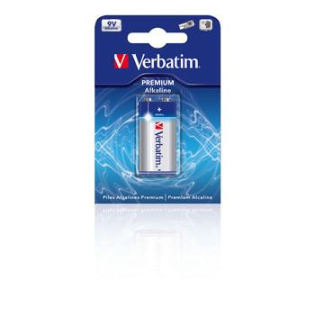Verbatim Battery Alkaline 9V/6LF22  9,0V  (1)