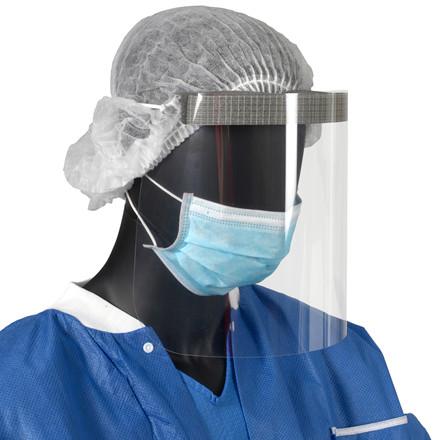 Visir til ansigtsbeskyttelse one size m/elastik