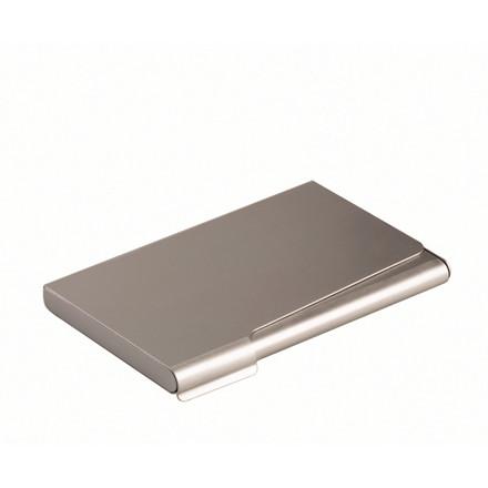 Visitkortetui t/20 kort mat sølv