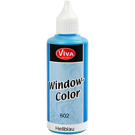 Viva Decor Window Color, lys blå, 80ml