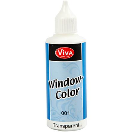 Viva Decor Window Color, transparent, 80ml