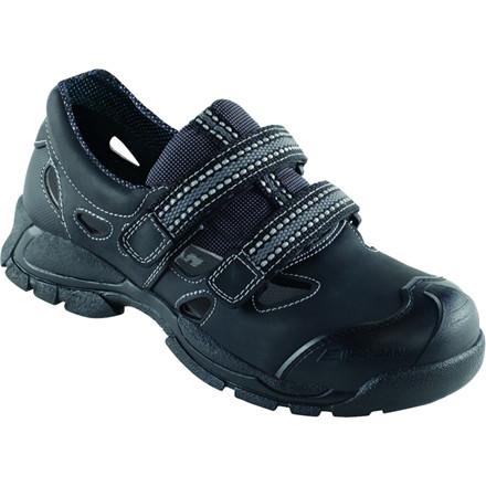 Walki sport sko, værnesål, alu-tåkappe, shockabsorber, stigegreb, sort, str. 37,