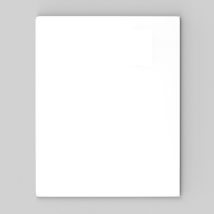 Whiteboard 90 x 120 cm - Lintex Boarder med aluminiumsramme