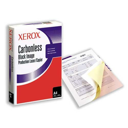 Xerox Carbonless paper 3-part white/yellow/pink (501 sider/167 s )