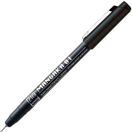 ZIG Mangaka Fineliner 01 Black