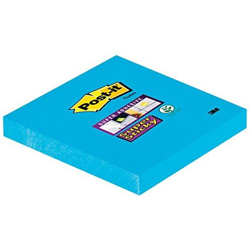 Post-it®Super Sticky Notes 76 x 76 mm - Elektrisk blå