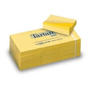 3M Tartan 5138 Notes 51x38mm yellow (12)