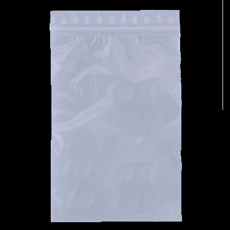 Lynlåspose BNT 100 x 150 mm uden skrivefelt og hul - 1000 stk i pakke