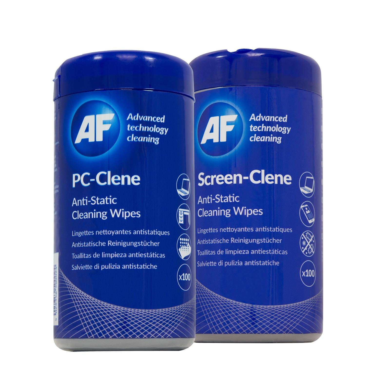 AF BUNDLE PC surface-clene tub (100pcs) + Screen-clene tub (100