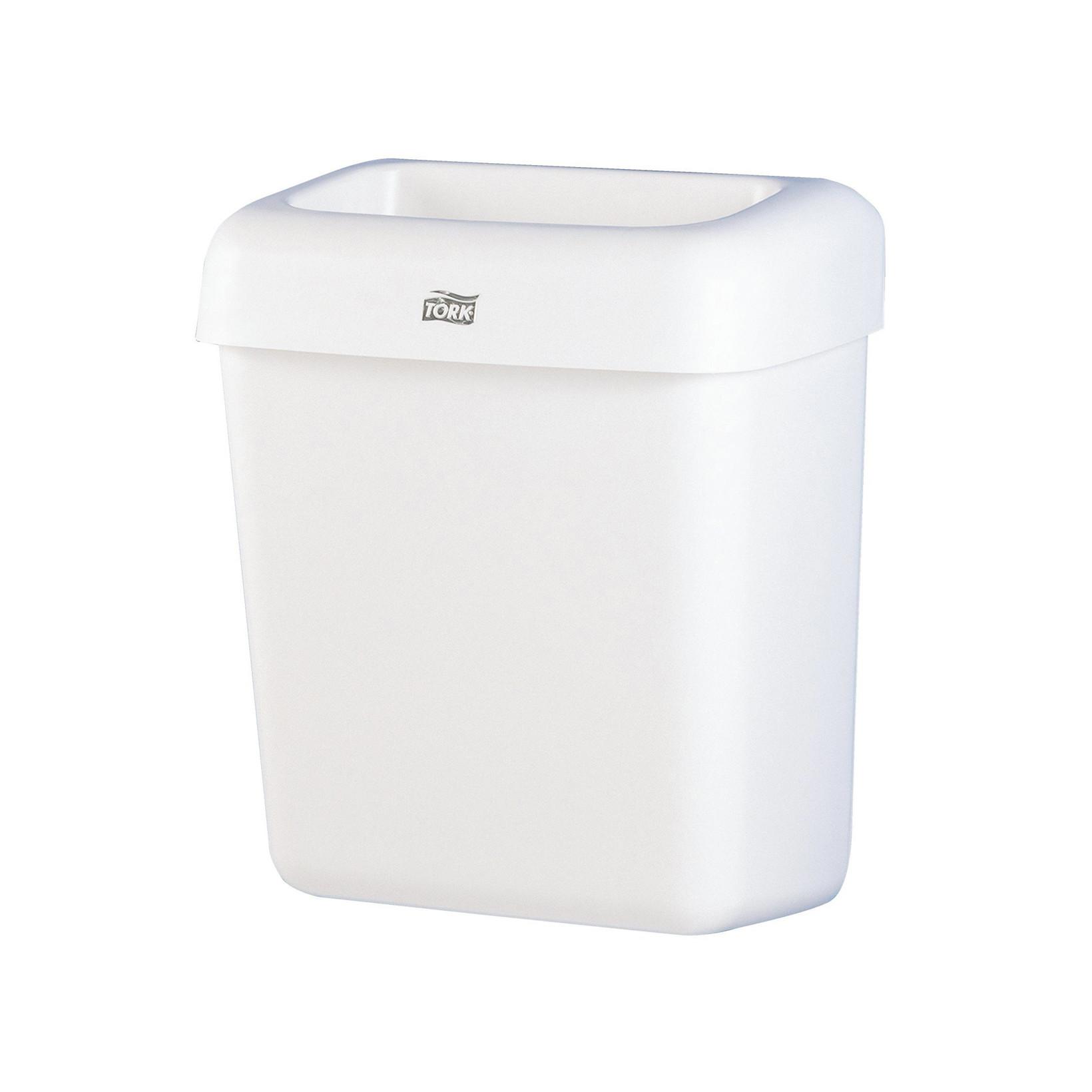 Tork affaldskurv 20 liter B2 plast 226100 - hvid