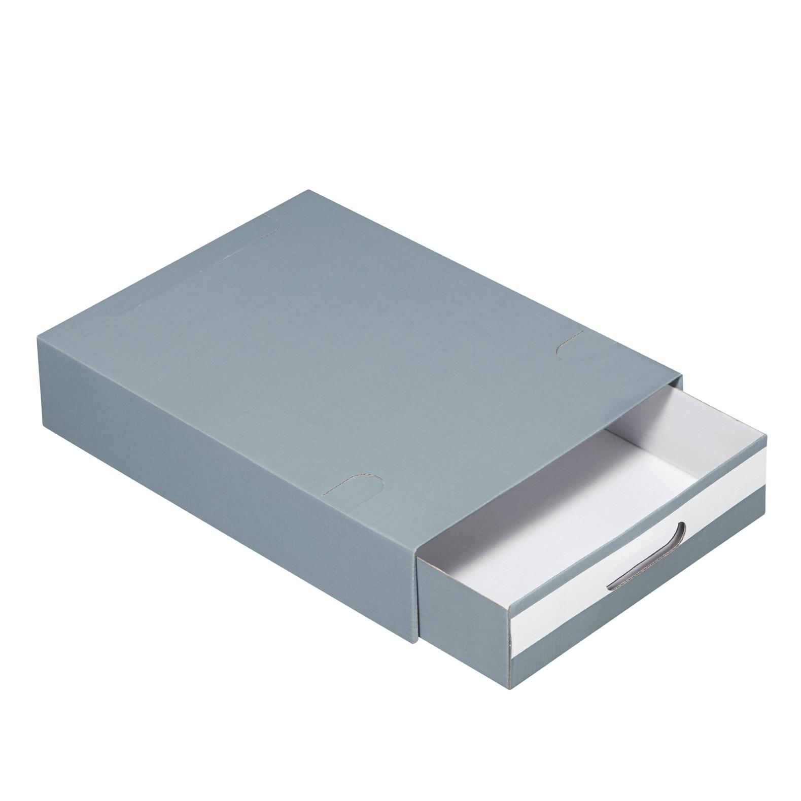 Arkivæske med skuffe Esselte Multibox - Standard grå