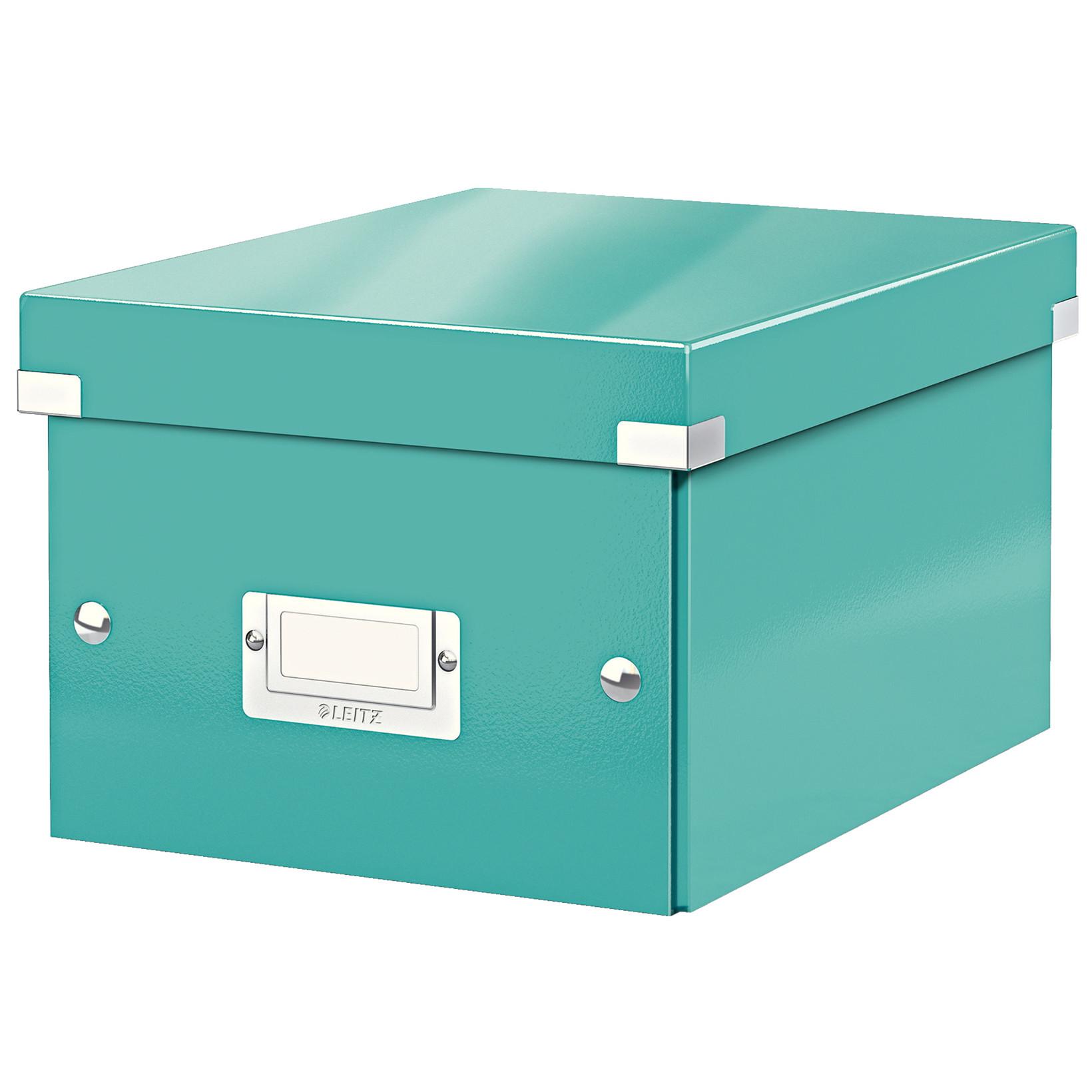 Arkivboks Leitz Click & Store 22 x 16 x 28,2 cm - Isblå