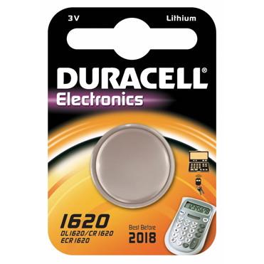 Batteri Duracell Electronics 1620 1stk/pak