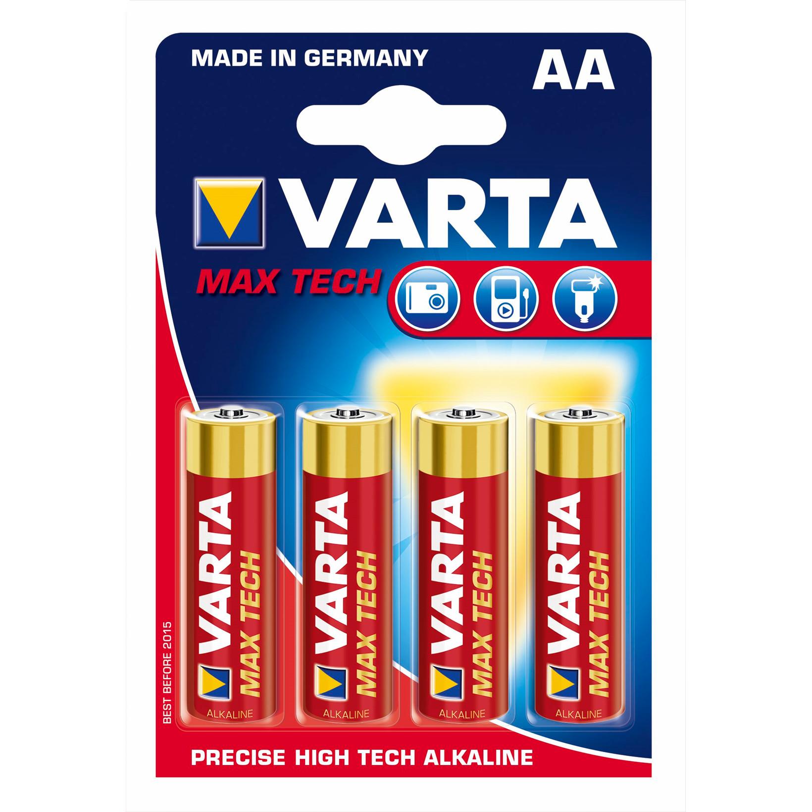 Batteri Max Tech Varta - AA 4706 Mignon LR 6  4 stk i en pak