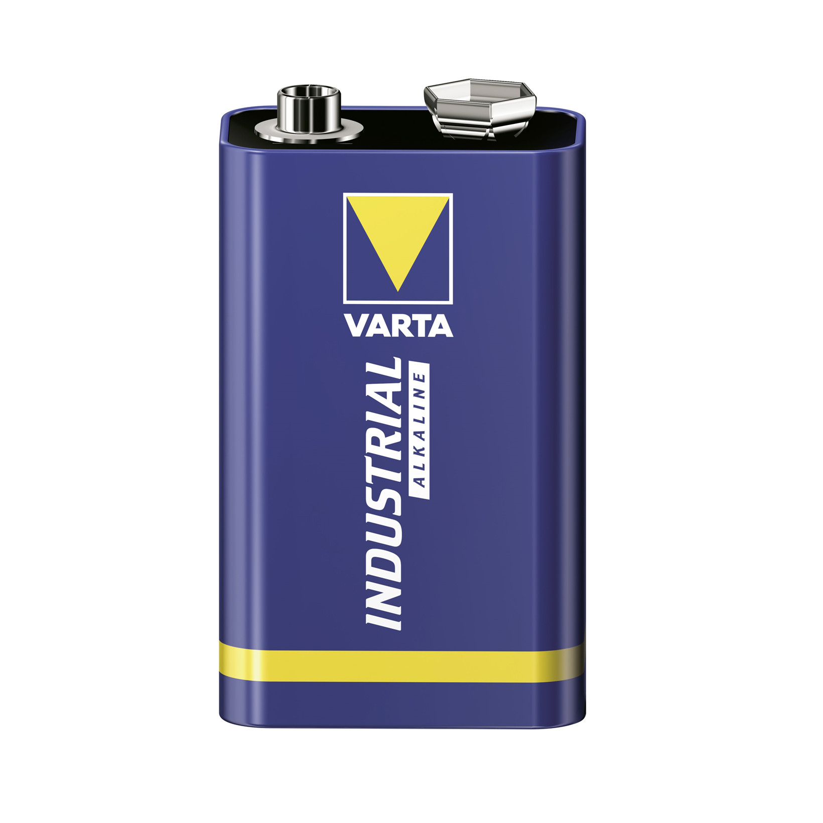 Batteri Varta Industrial 9V - 6LR61 1 stk. i pakken