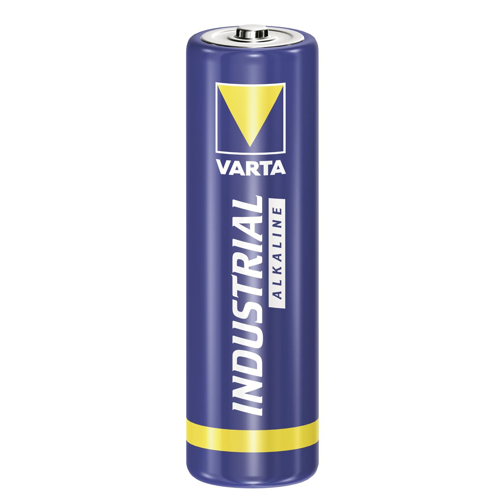 Batteri Varta Industrial LR 06 - AA 4 stk i en pakke
