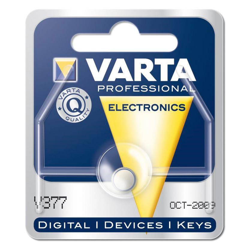 Batteri Varta til ur - V377 SR66 1,55V 27 mAh