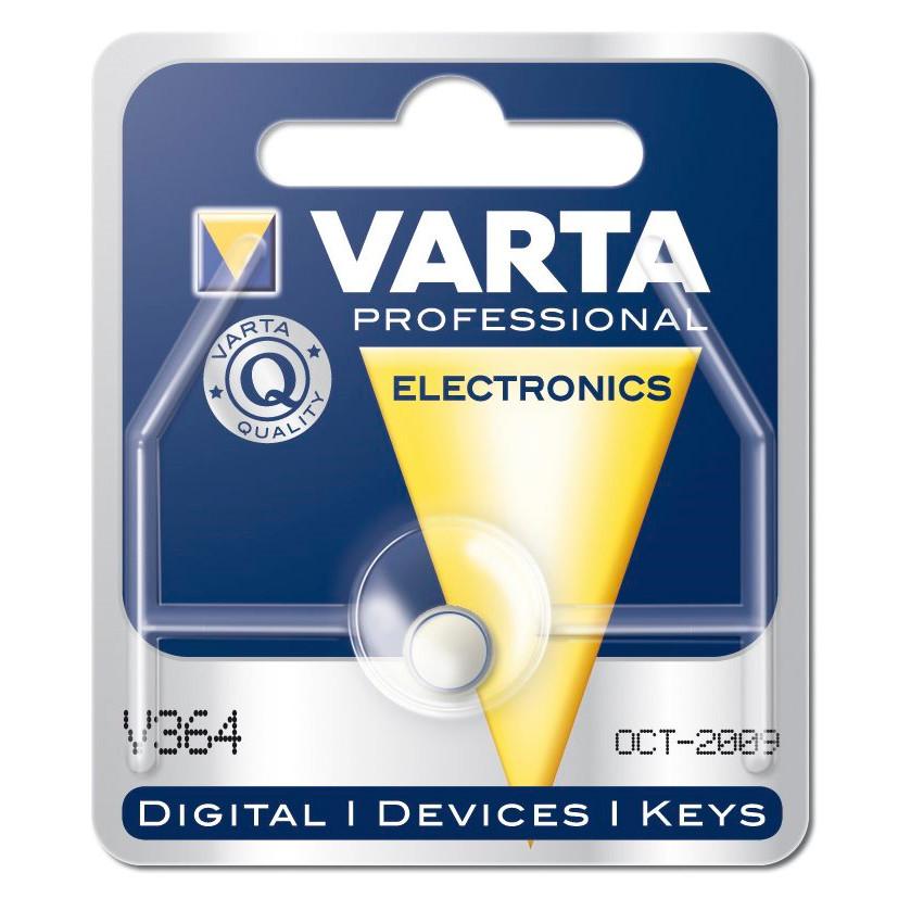 Batteri Varta UR - V364 SR60 1,55 V 20 mAh 1. stk i pk