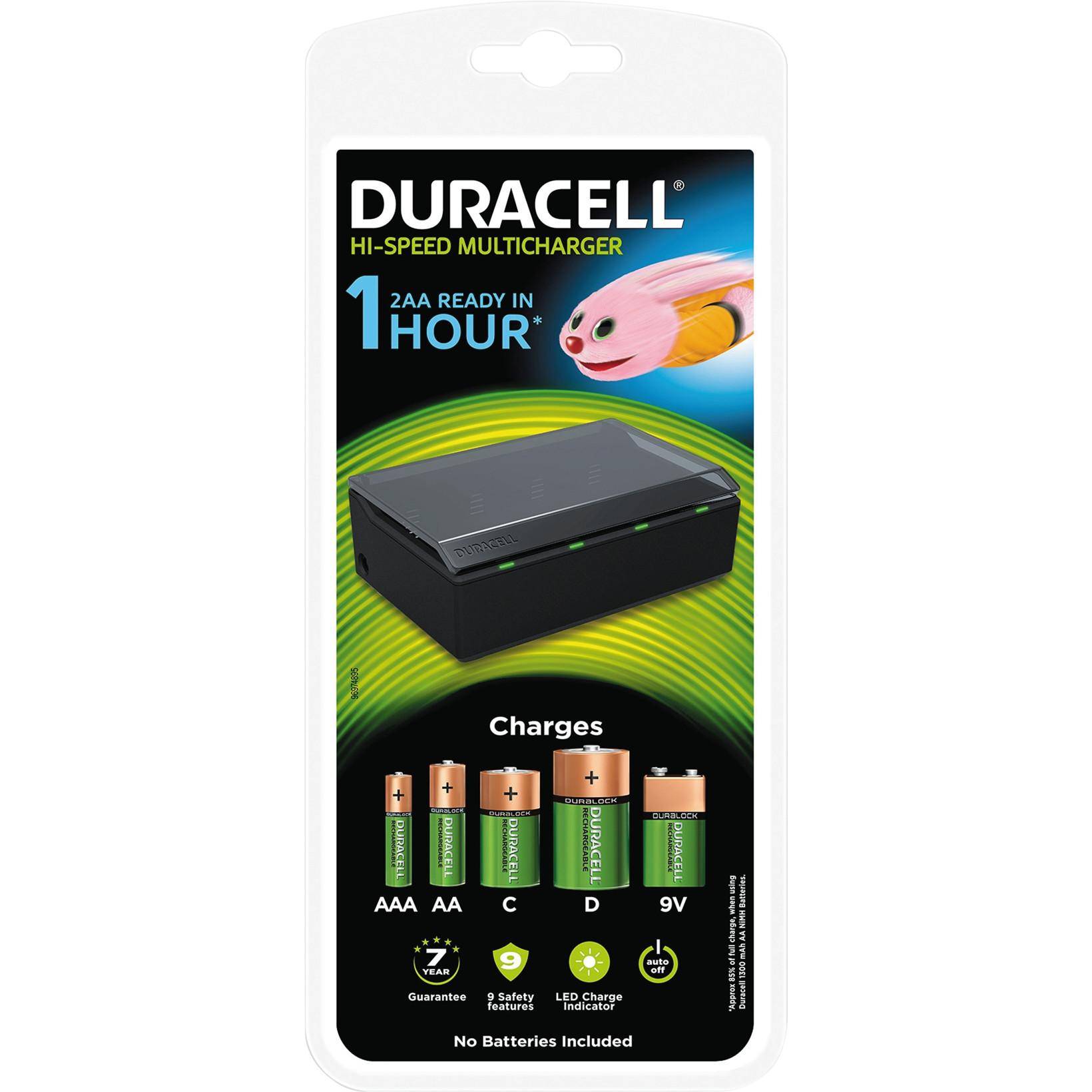 Batterilader Duracell Universallader