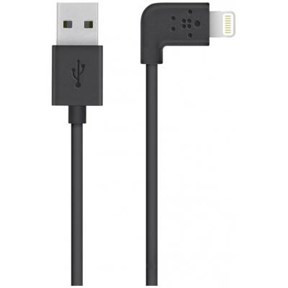 Belkin MIXIT 90° Lightning to USB Cable, Black (1,2m)