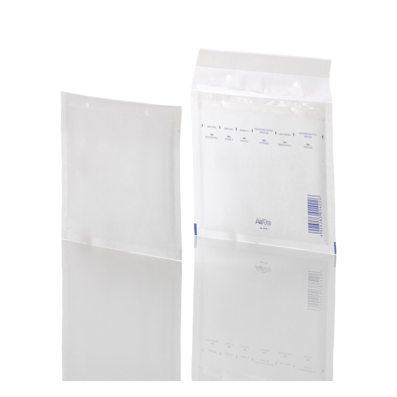 Boblekuverter CD Air Pro - FSC hvid 200 x 175 mm - 100 stk.