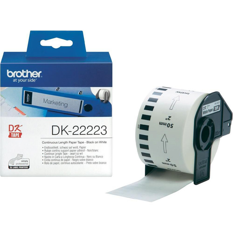 Brother DK22223 - Label 50 mm papirtape