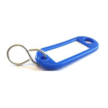 Nøglering med s krog - Blå