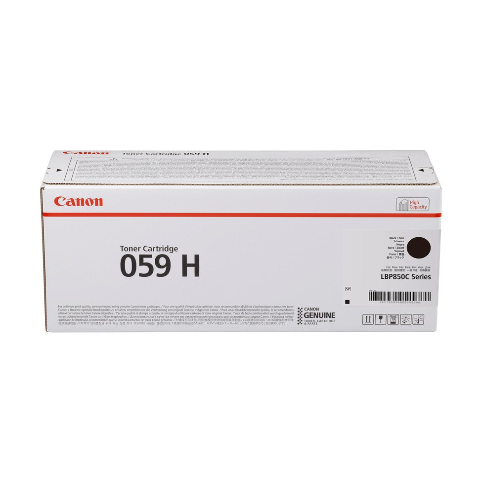 Canon 059 H Black Toner Cartridge 15.5K