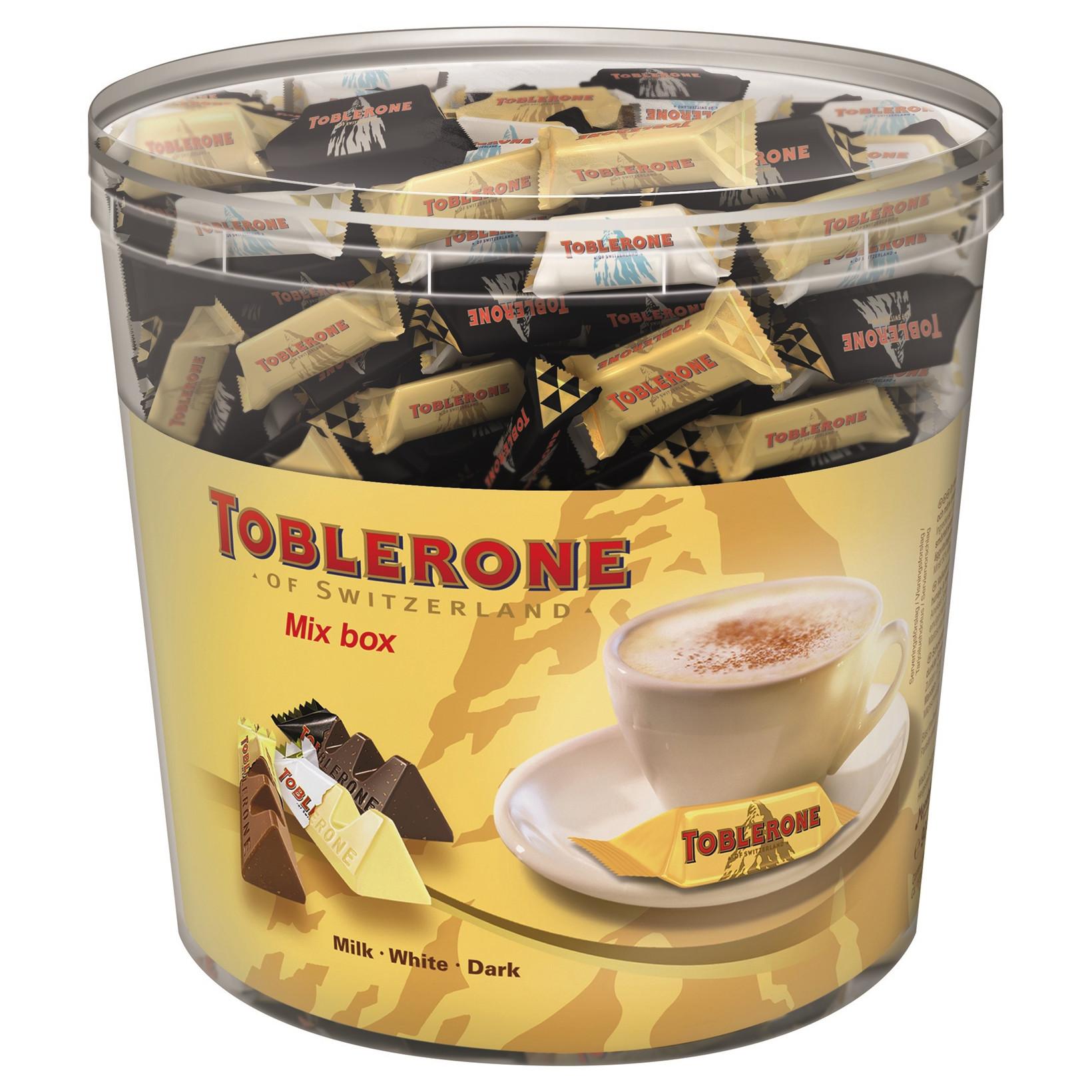 Chokolade Toblerone Tiny mix - 904 gram i pakken