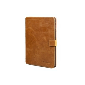 Dbramante1928 Leather folio Copenhagen 2 for iPad Air - golden tan