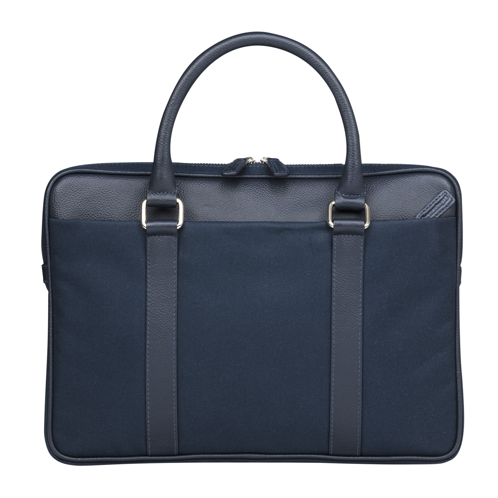 Dbramante1928 14'' Slim Laptop Bag Stelvio (Avenue), Navy Blue