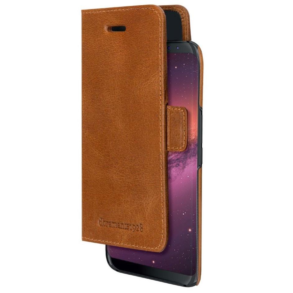 Dbramante1928 Lynge Tan - Wallet cover til Galaxy S9