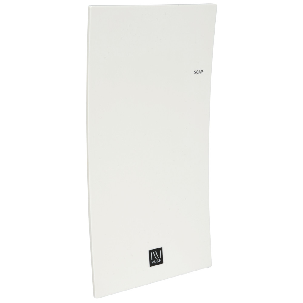 Dispenser, ILLI, front til dispenser, hvid,