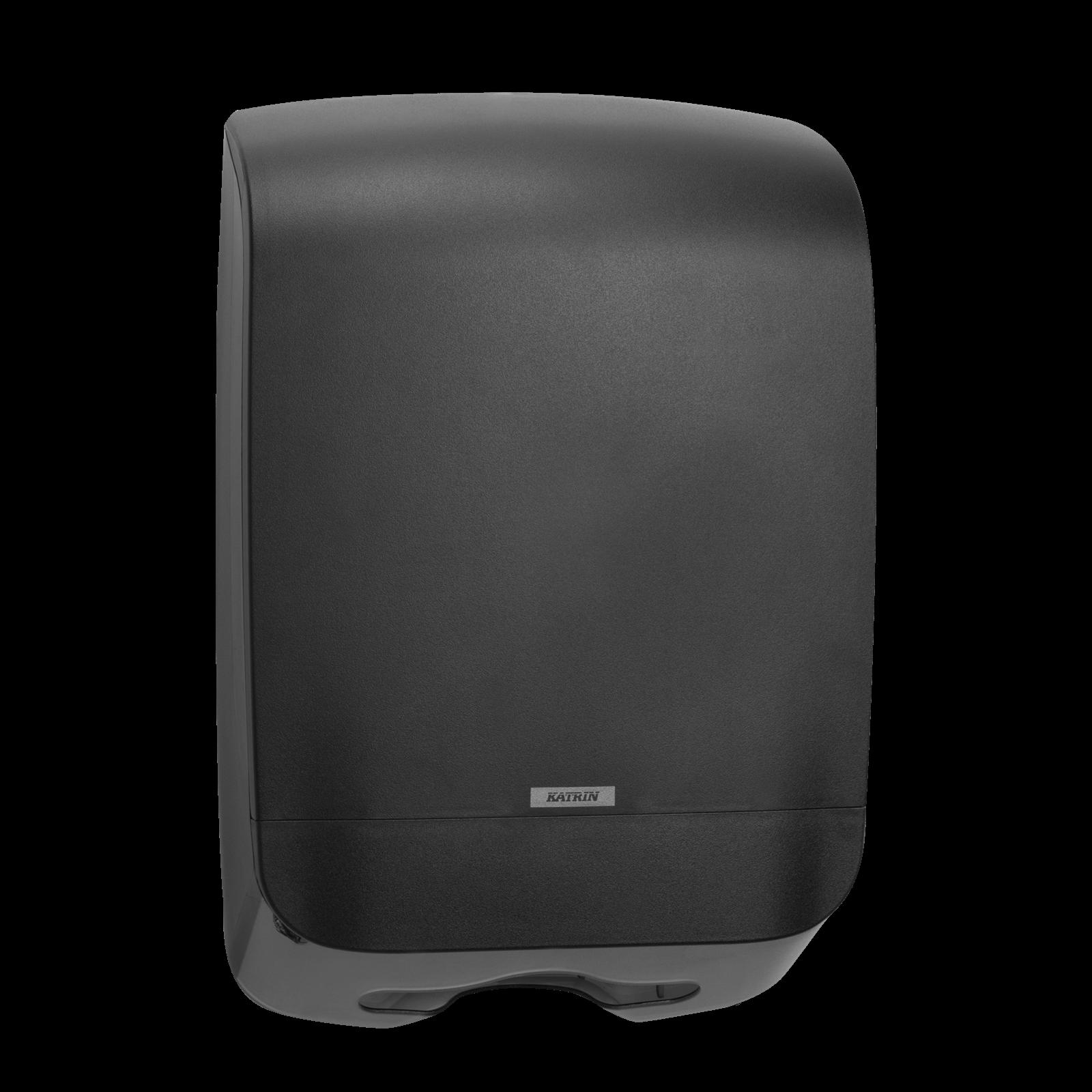 Katrin 92063 Hand Towel M Dispenser til papirhåndklæder - Sort plast