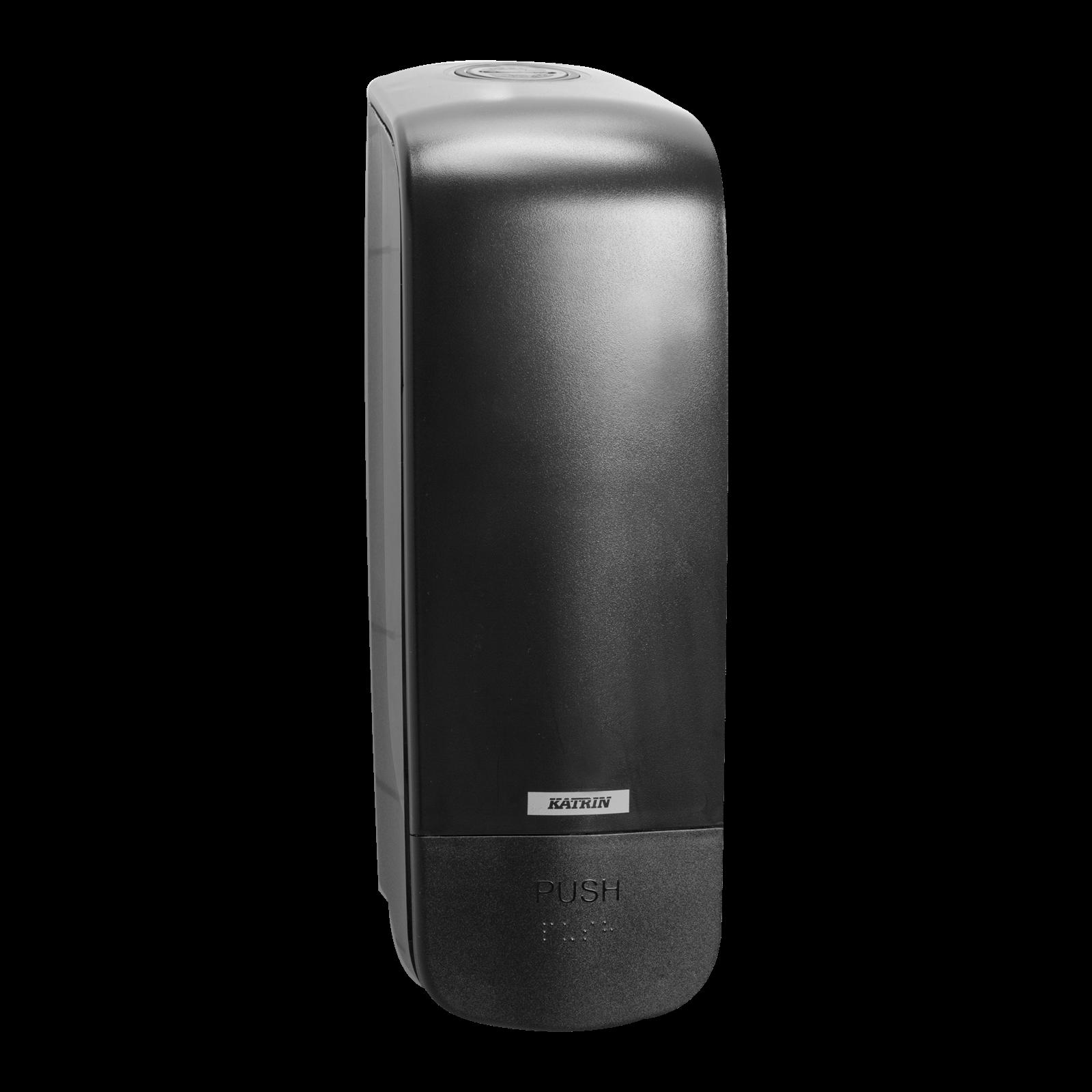 Katrin 92209 Soap Dispenser 1000 ml til sæbe & foam - Sort plast