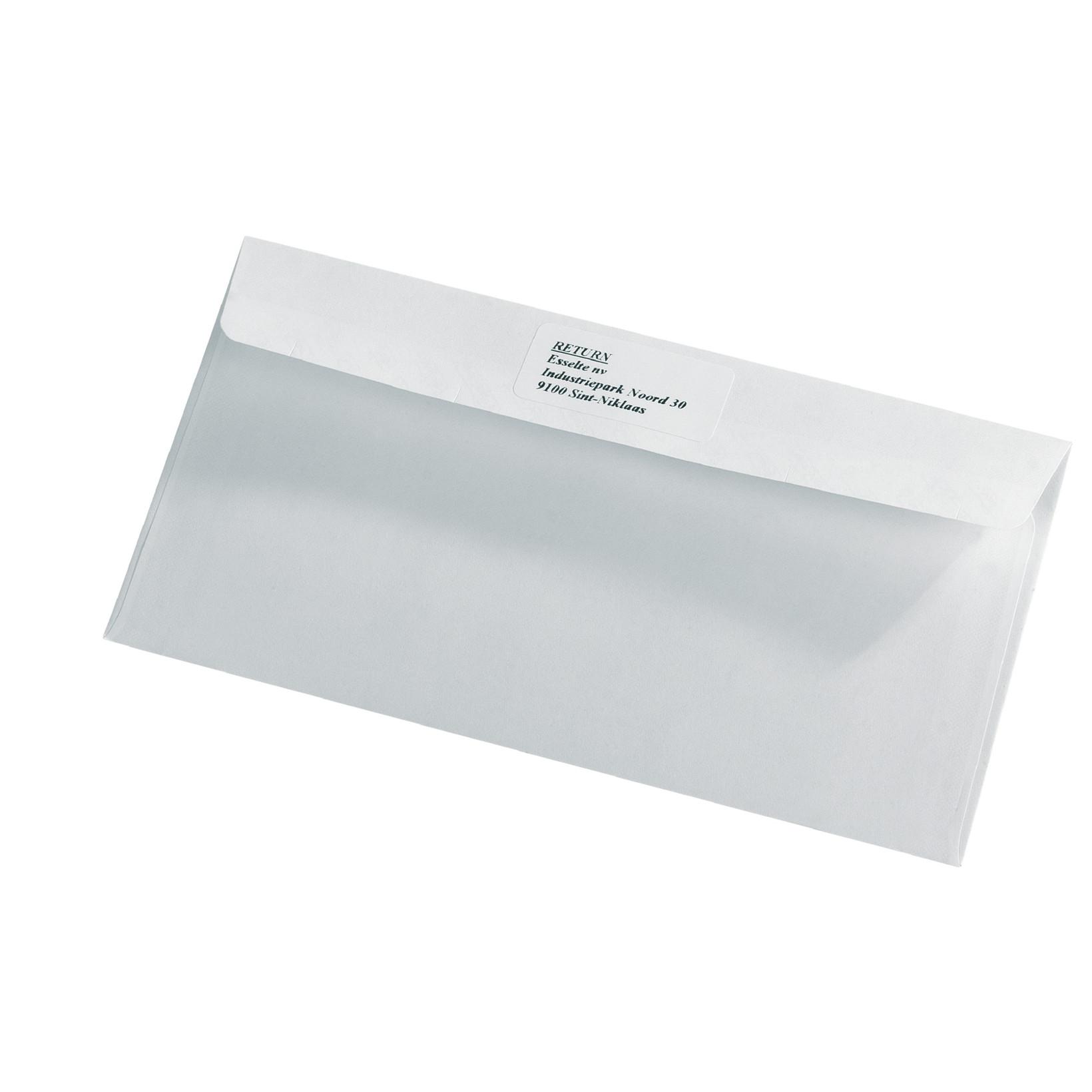 DYMO 11352 - Etiketter returadresse hvide 25 x54 mm - 500 stk