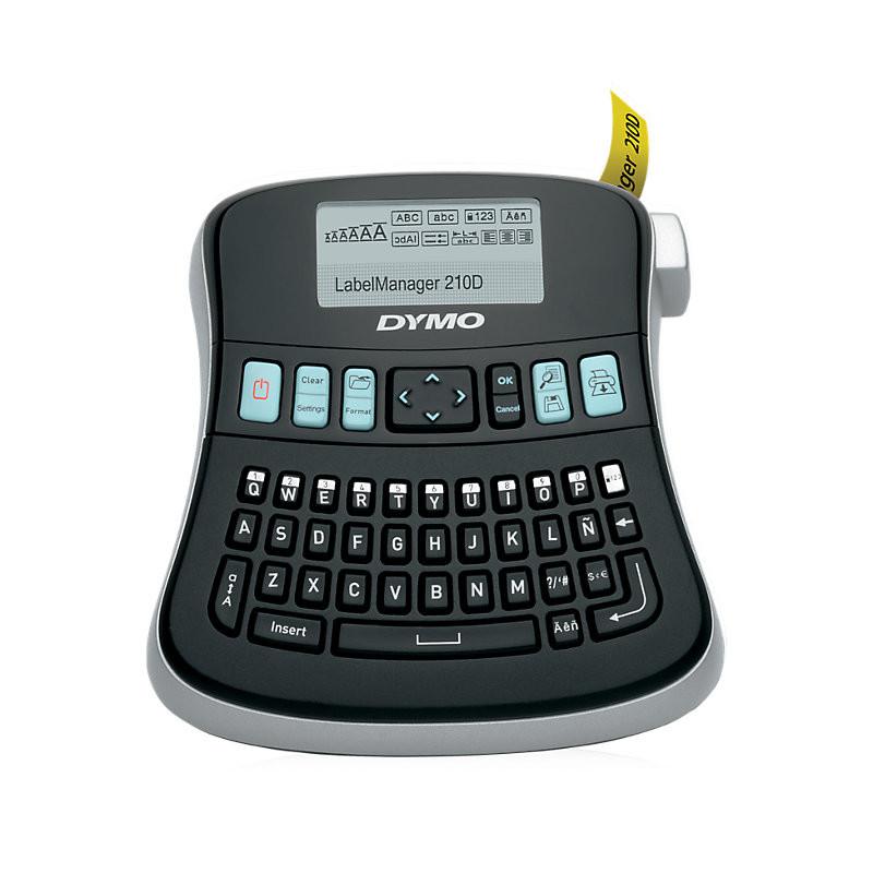 DYMO LabelManager 210D - D1 Labelmaskine til tape 6 - 12 mm