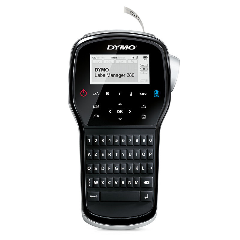 DYMO LabelManager 280 - Labelmaskine til D1 tape i 6,  9 & 12mm