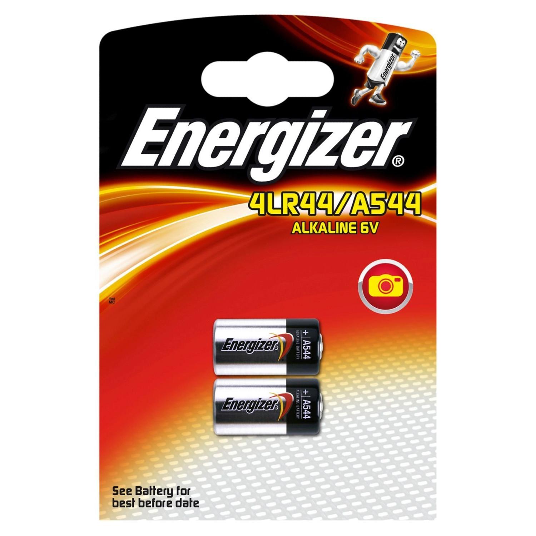 Energizer Alkaline Batteri 4LR44 / A544 - 2 stk
